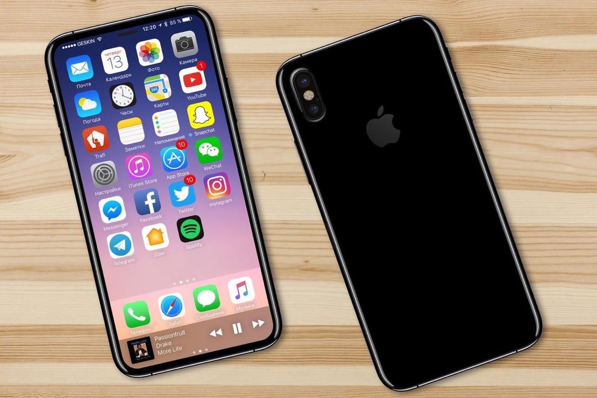 Точные технические характеристики iPhone X в преддверии анонса