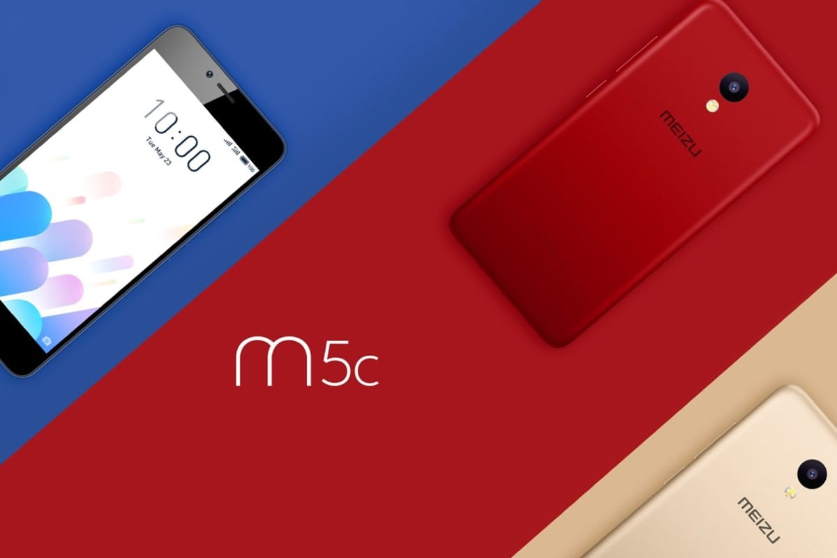 Начались российские продажи Meizu M5c