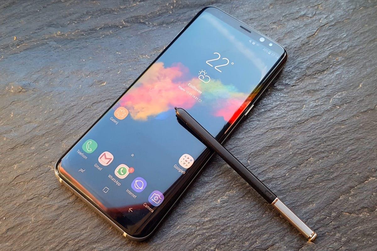 Опубликованное изображение Samsung Galaxy Note 8