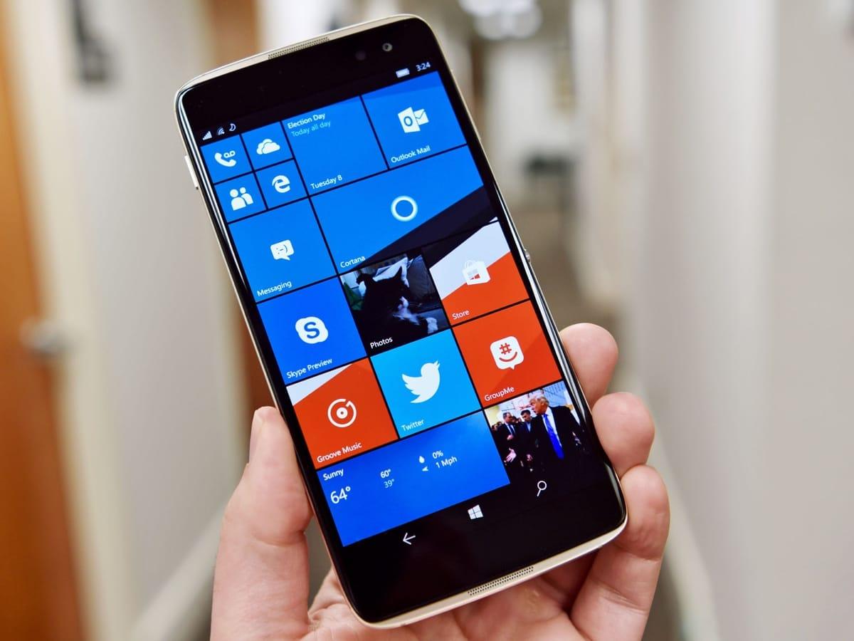 Новости: В Европе выйдет смартфон Alcatel Idol 4 Pro на Windows 10