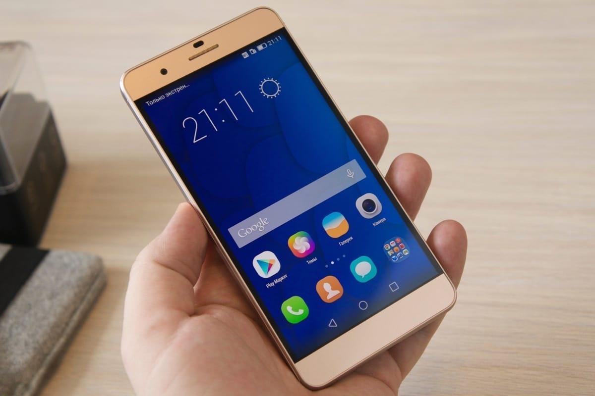 Huawei выпустила бюджетный смартфон Enjoy 7