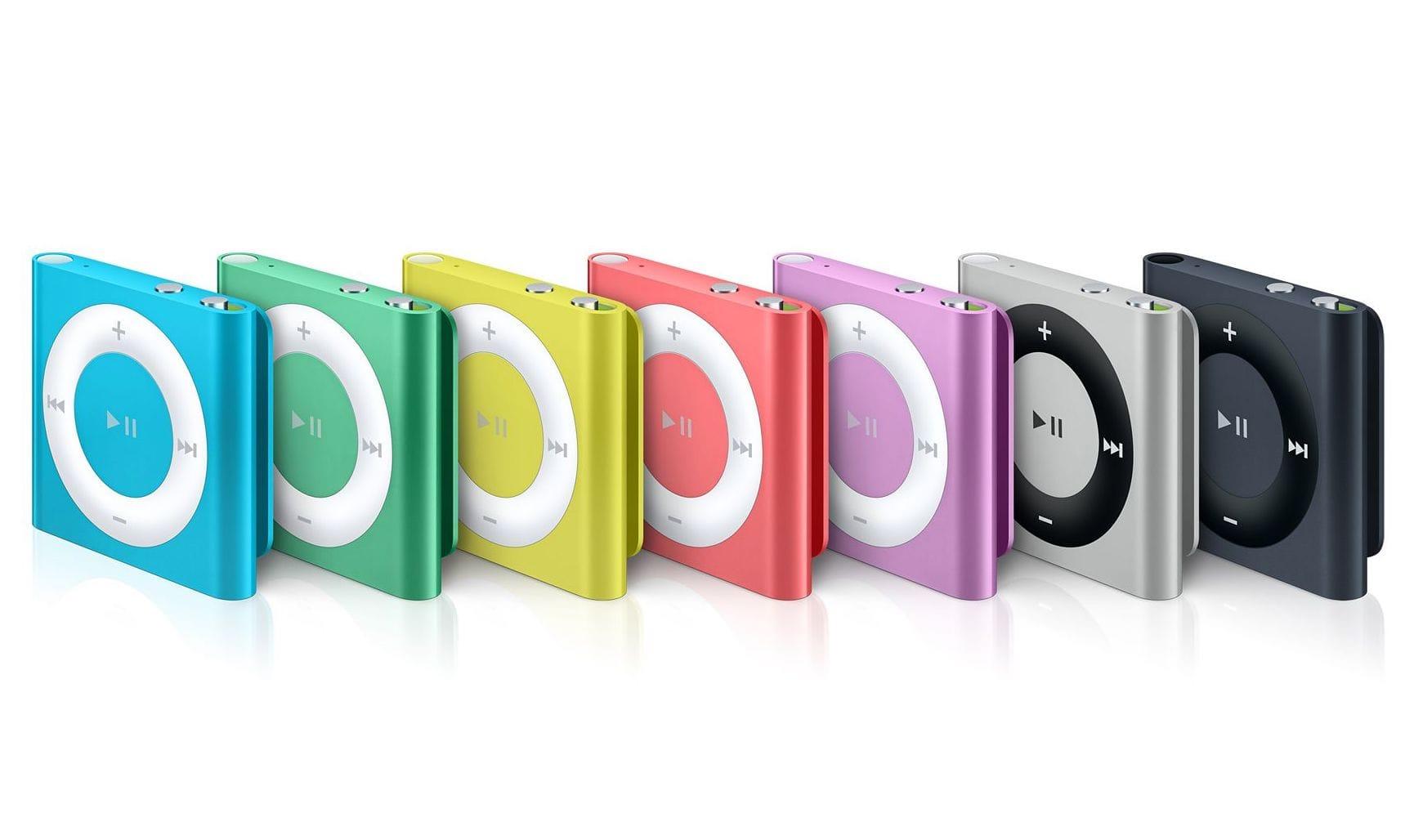 Apple больше небудет производить часть iPod