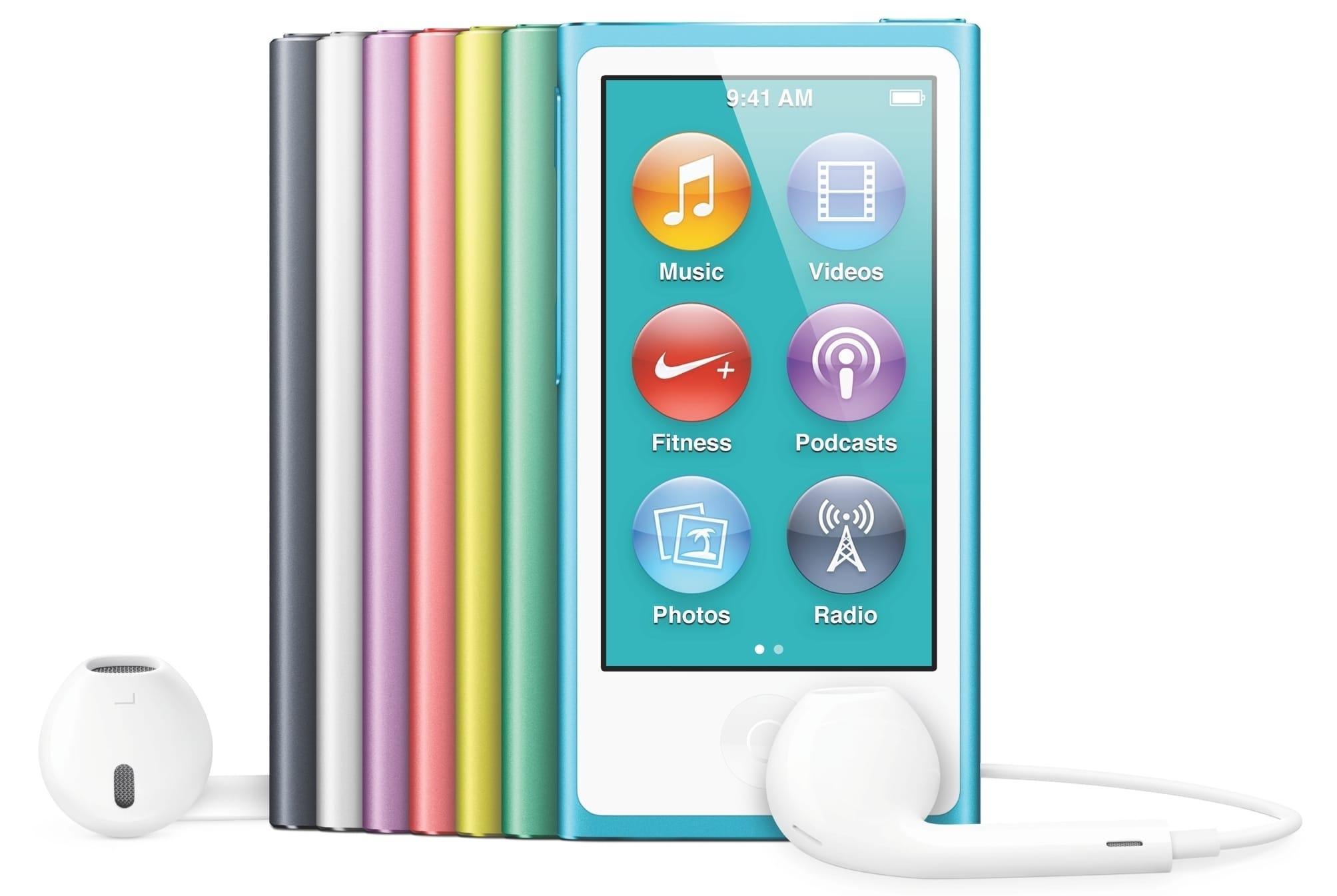 Компания Apple отказалась отвыпуска iPod Nano иShuffle