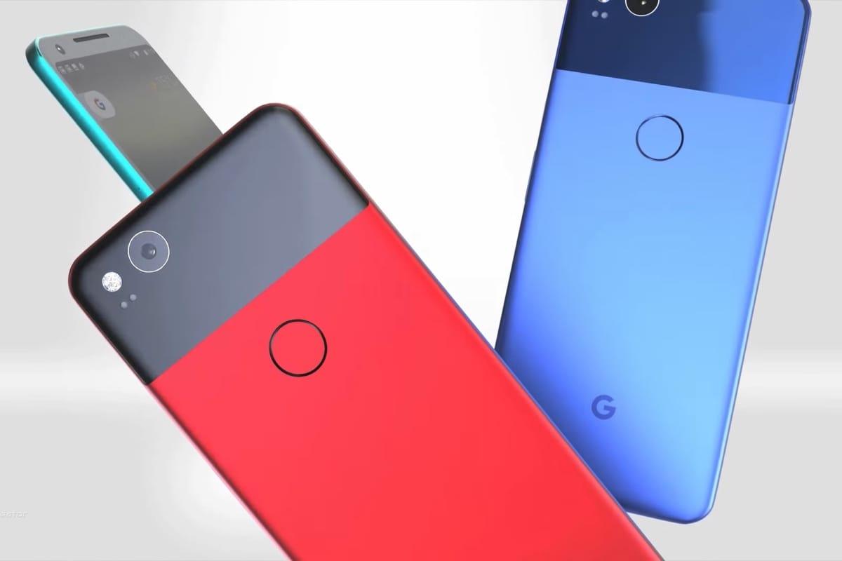 Вweb-сети интернет появились фото телефонов Google Pixel 2 иPixel 2 XL
