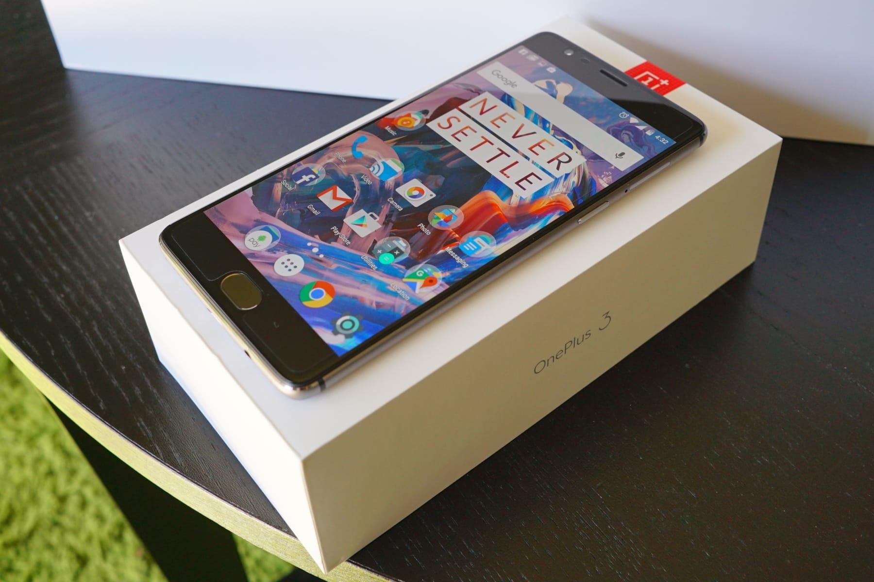 Андроид  8.0 будет  последним большим  обновлением для OnePlus 3 и3Т