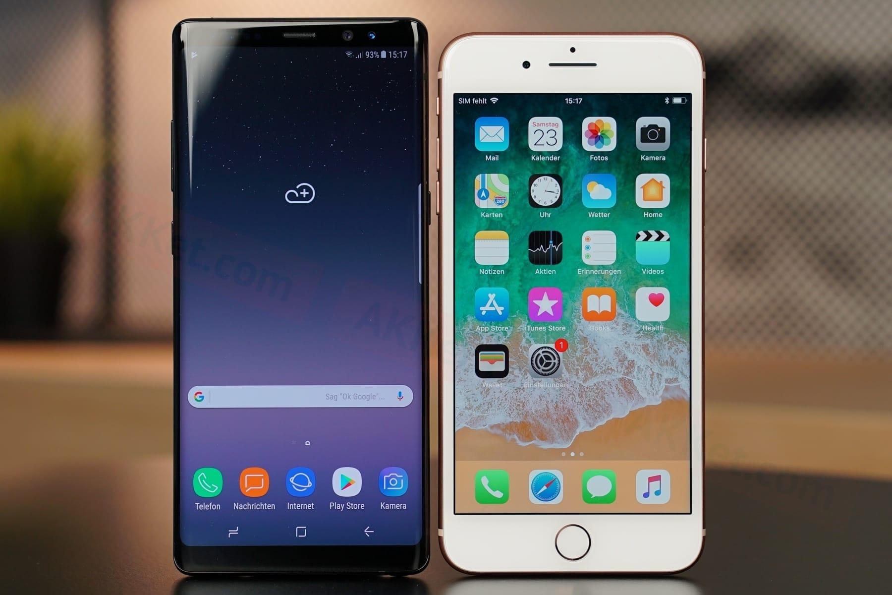 IPhone 8 Samsung Galaxy Note 8 Galaxy S8