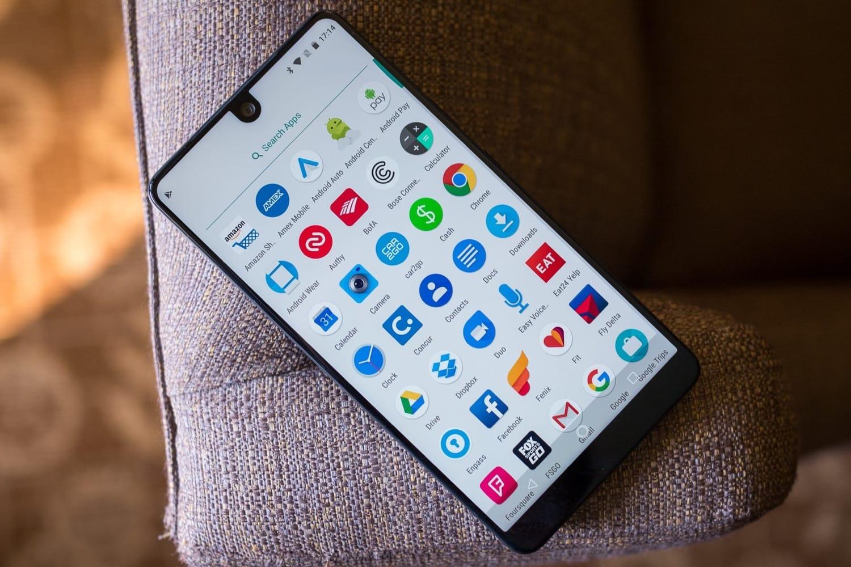 Замесяц продаж смартфон Essential PH-1 приобрели только около 5000 человек