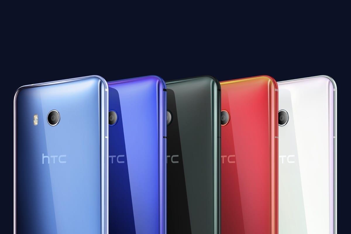 HTC представит три новых телефона кконцу 2017-ого года