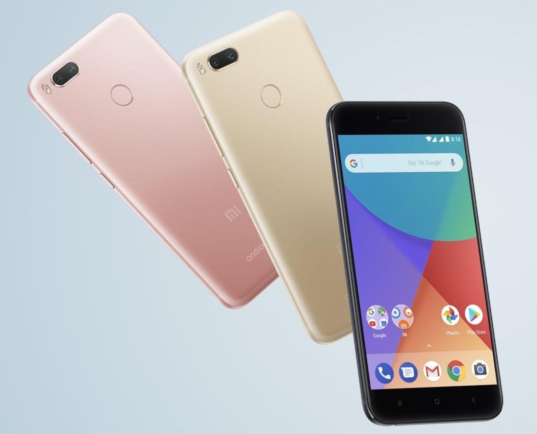 Xiaomi MiA1 прибыл в Российскую Федерацию