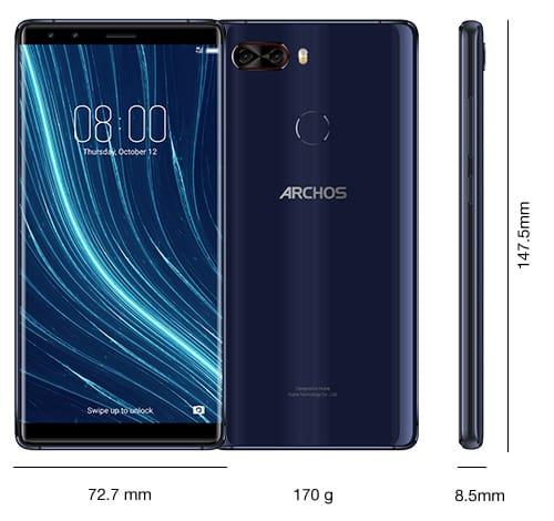 Смартфон сбольшим дисплеем — ARCHOS Diamond Omega