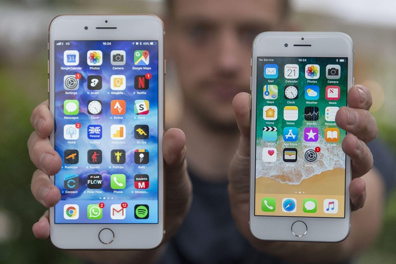 ВiPhone 8 иiPhone 8 Plus продолжают массово вздуваться аккумуляторы