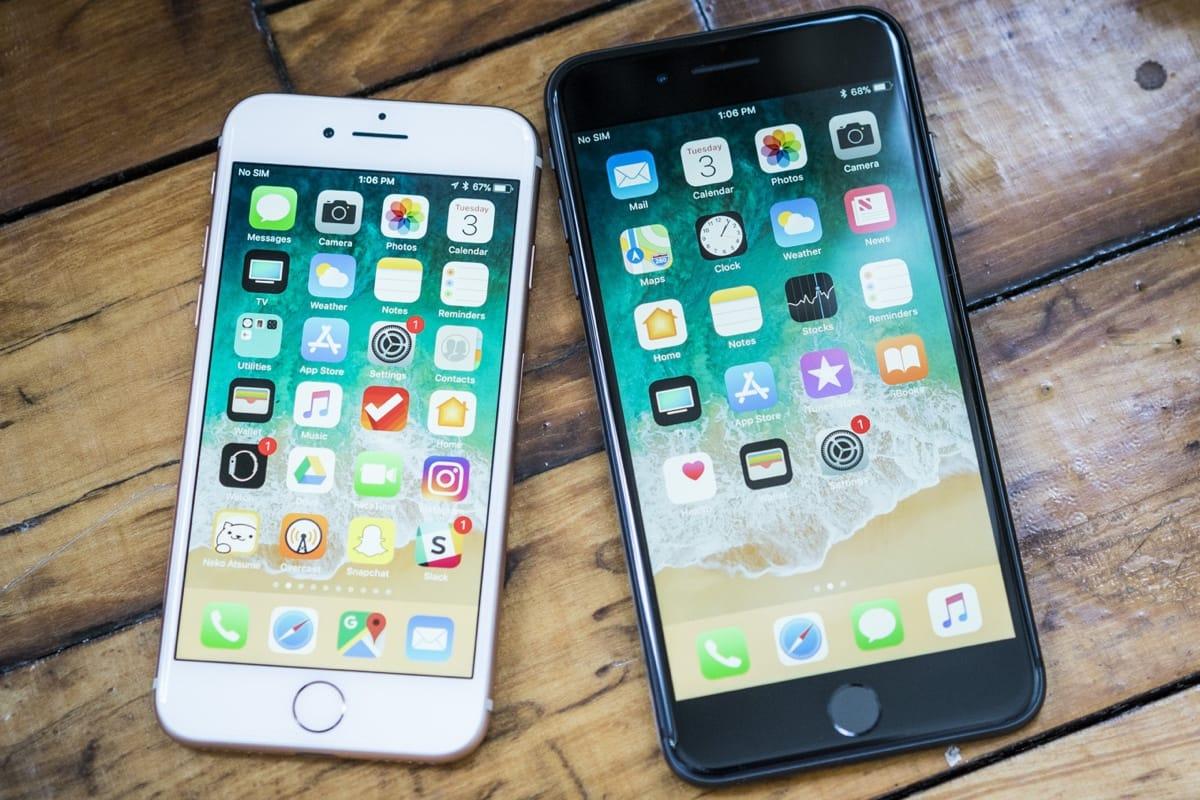 IPhone 7 продолжает реализовываться лучше, чем iPhone 8