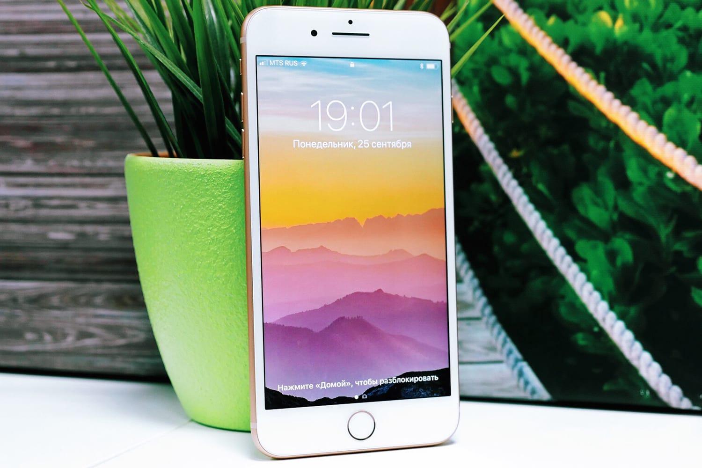 В РФ слабый спрос обрушил цены нафлагман iPhone 8 Plus