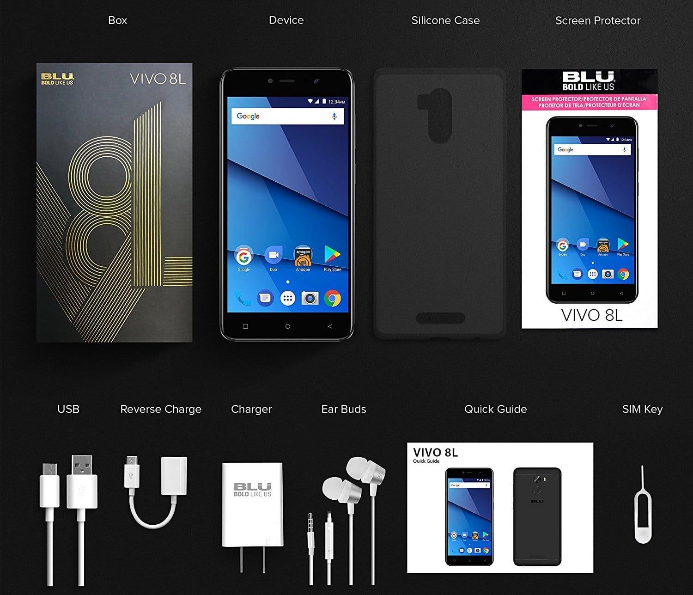 Состоялся анонс телефона BLU VIVO 8L сАКБ на4000 мА.ч