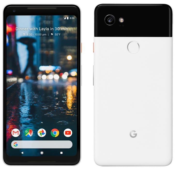 Google Pixel 2 и2 XLпредставлены официально (характеристики)