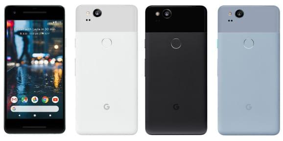 Новинки Google: мобильные телефоны Pixel 2 иPixel 2 XL