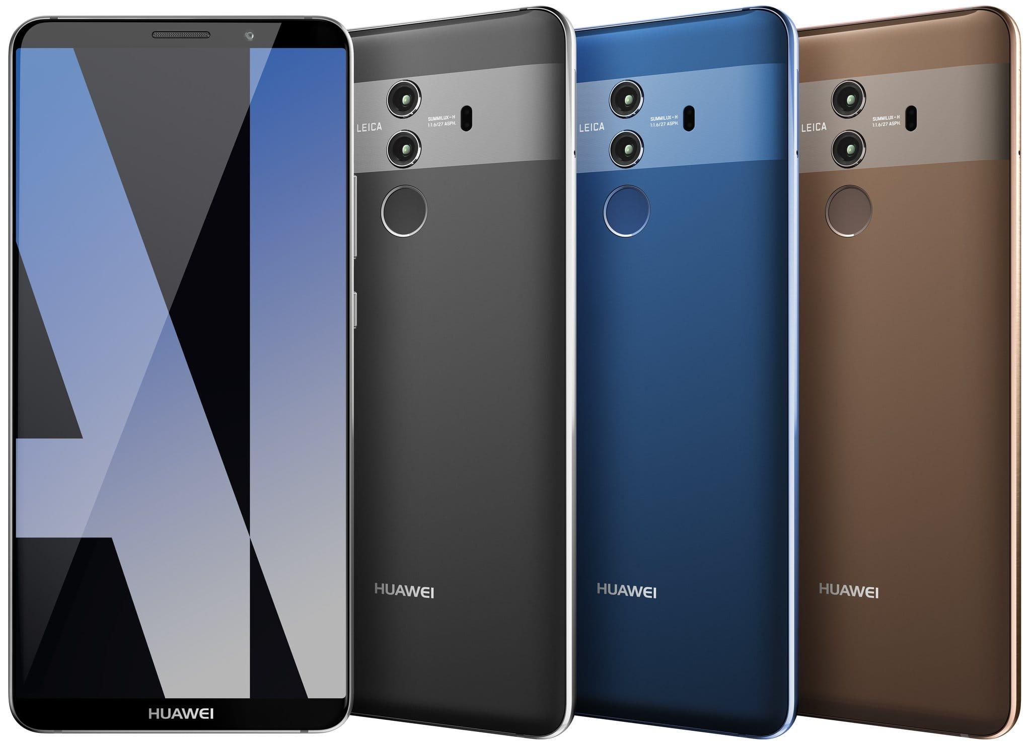 ВСеть попали кадры телефона Huawei Mate 10