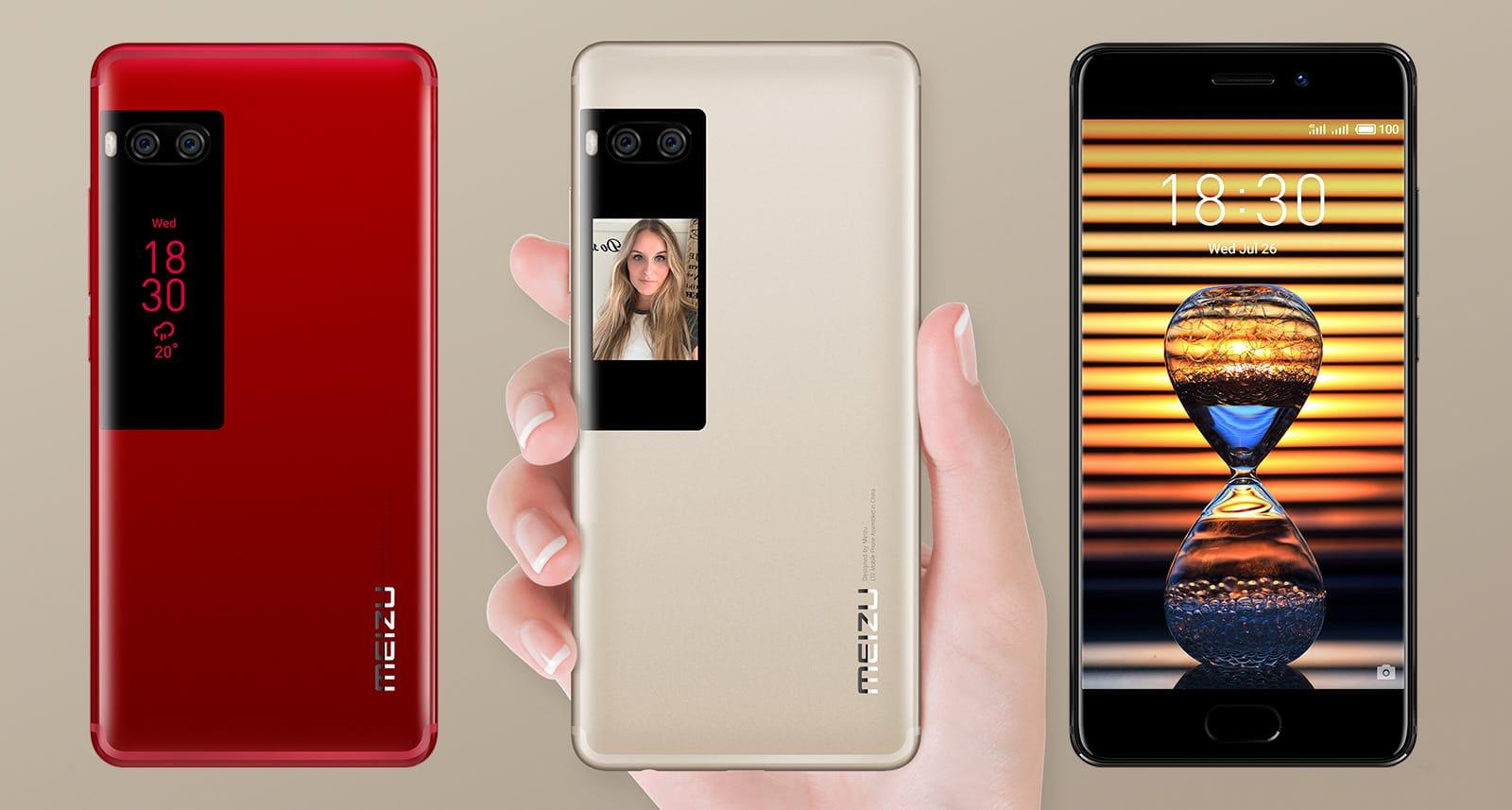 Meizu Pro 7 с 2-мя экранами распродают порекордно низкой цене