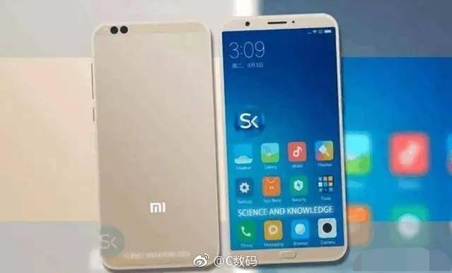 Шпионы заполучили изображение Xiaomi Mi6C