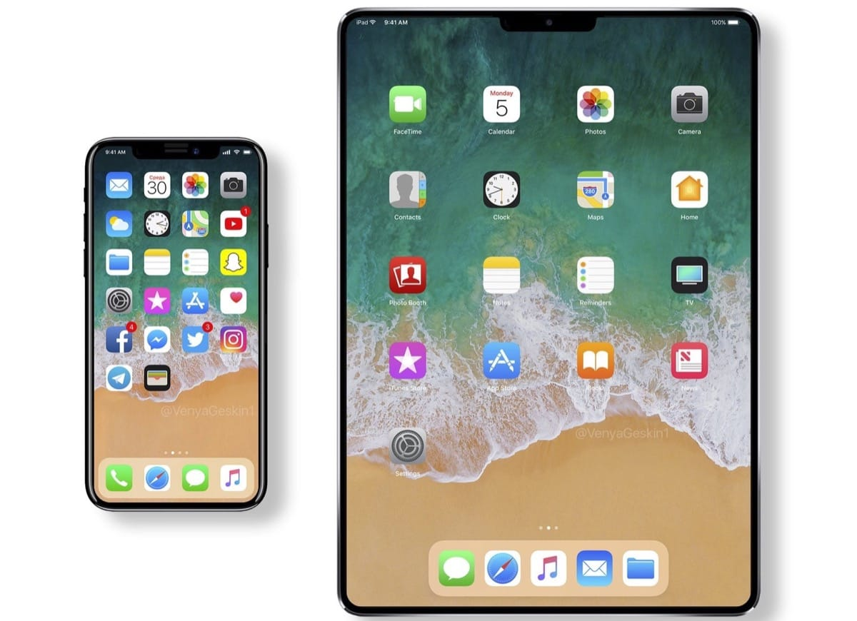 Apple лишит новые таблеты iPad кнопки Home