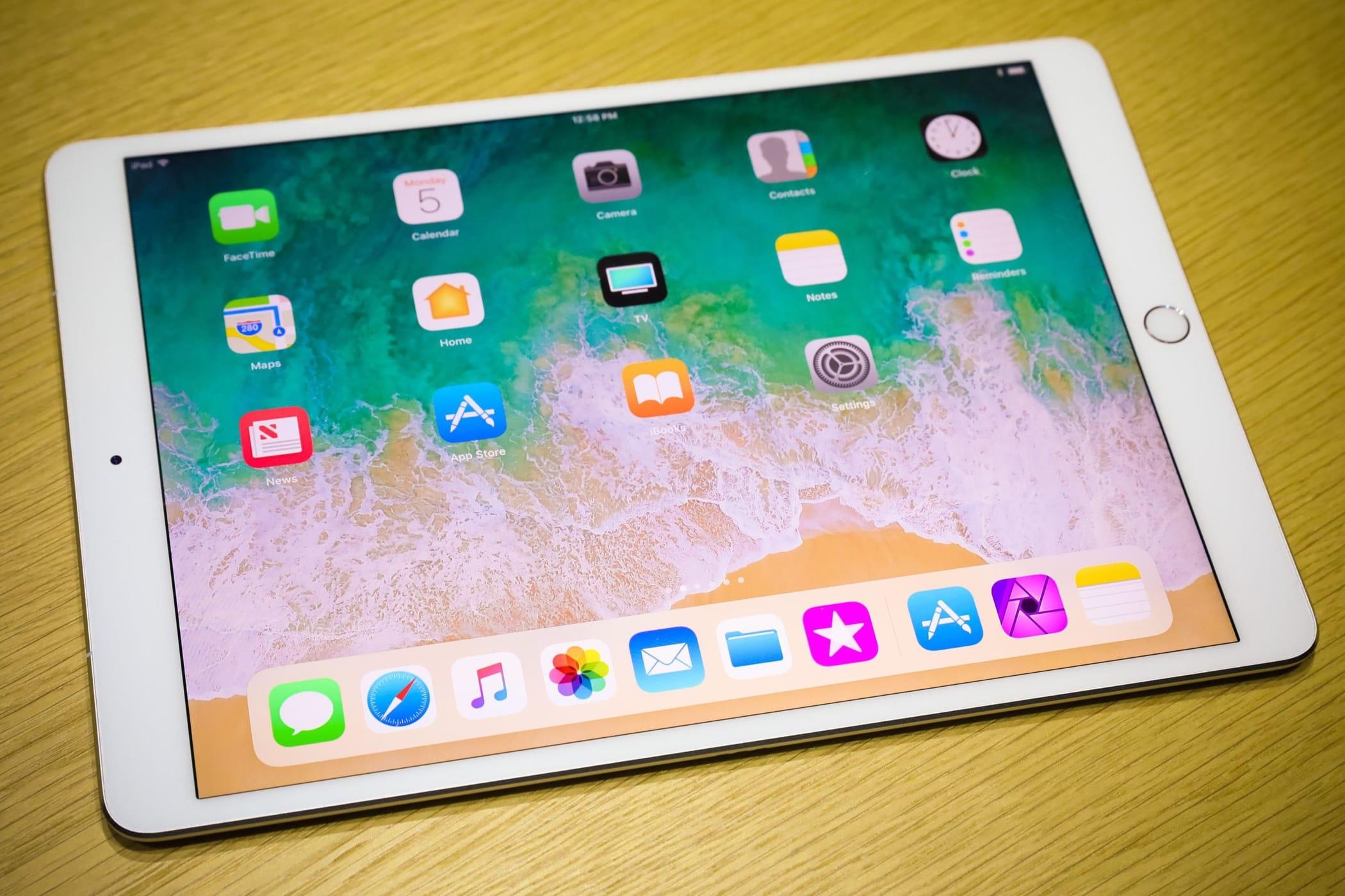 Новые планшеты iPad в 2018-ом году останутся без кнопки Home