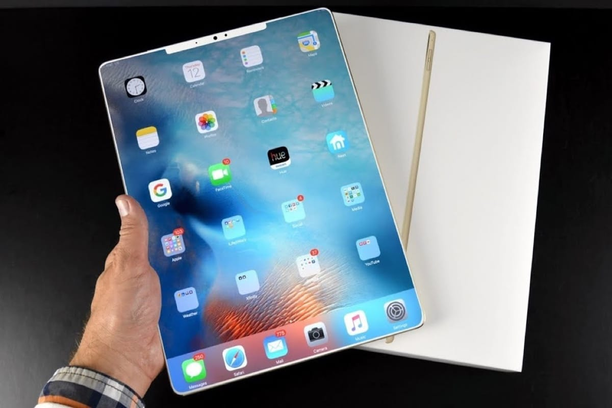 Полноэкранный iPad выйдет в 2018