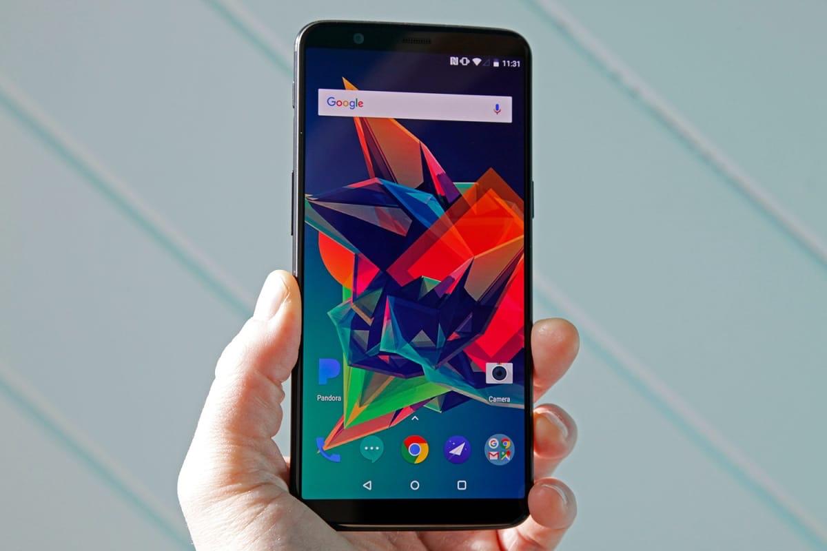 OnePlus 5T получит обновление андроид 8.O Oreo всамом начале предстоящего года