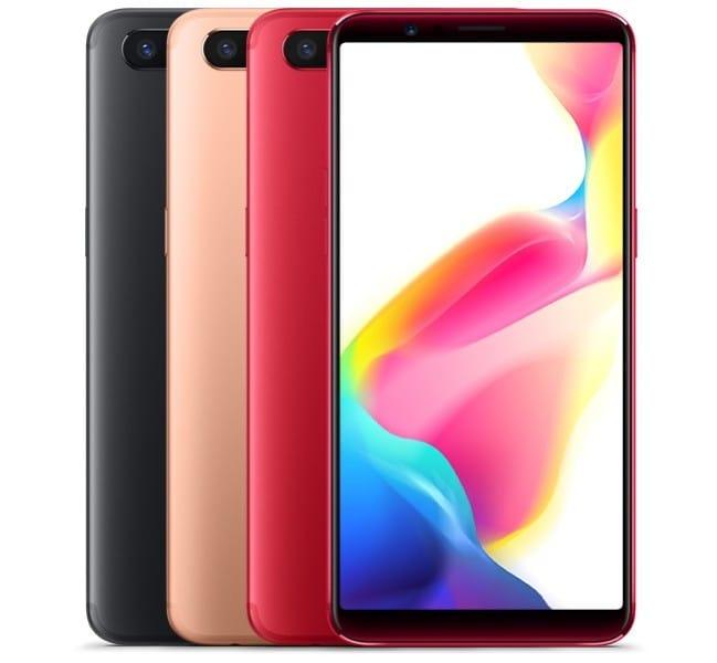 Oppo представила безрамочные мобильные телефоны R11s иR11s Plus