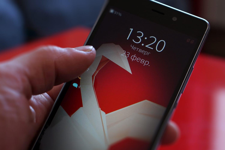 В Российской Федерации начнут торговать мобильные телефоны наотечественнойОС Sailfish