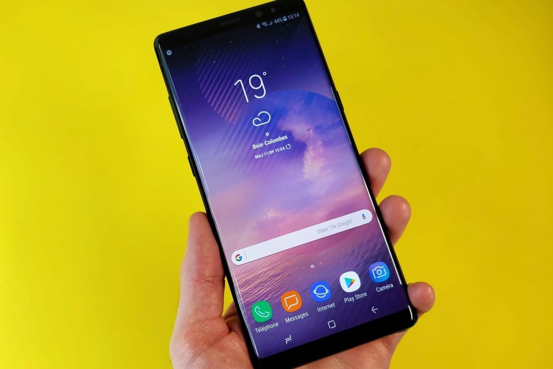 Самсунг запатентовала сканер отпечатков, интегрированный в экран телефона