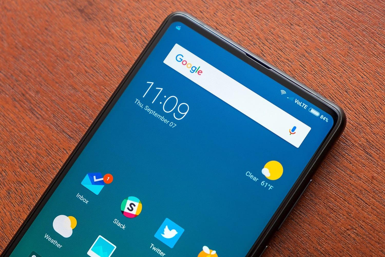 0 Xiaomi Mi MIX 2s – безрамочный убийца iPhone X со сканером лица