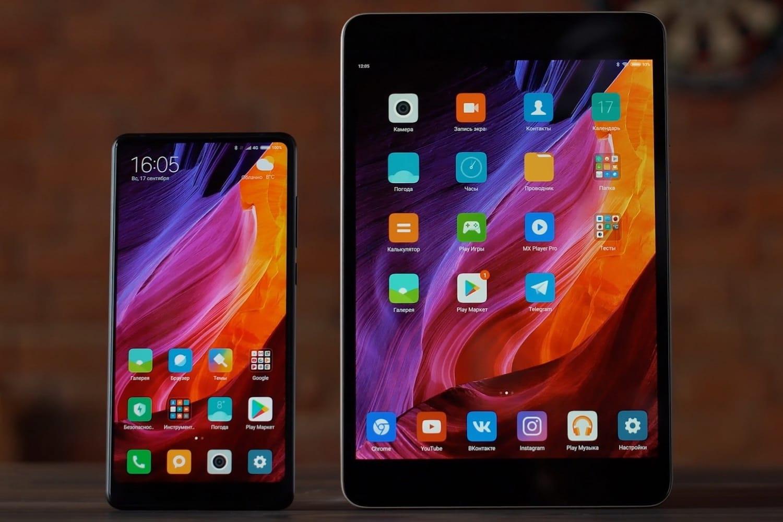 Xiaomi разрабатывает планшет споддержкой одновременной работы 2-х ОС