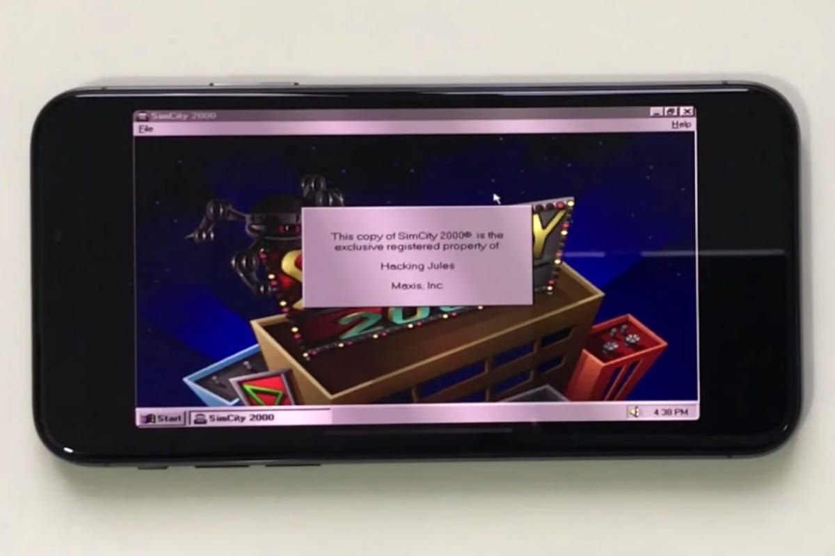 НаiPhone Xзапустили Windows 95