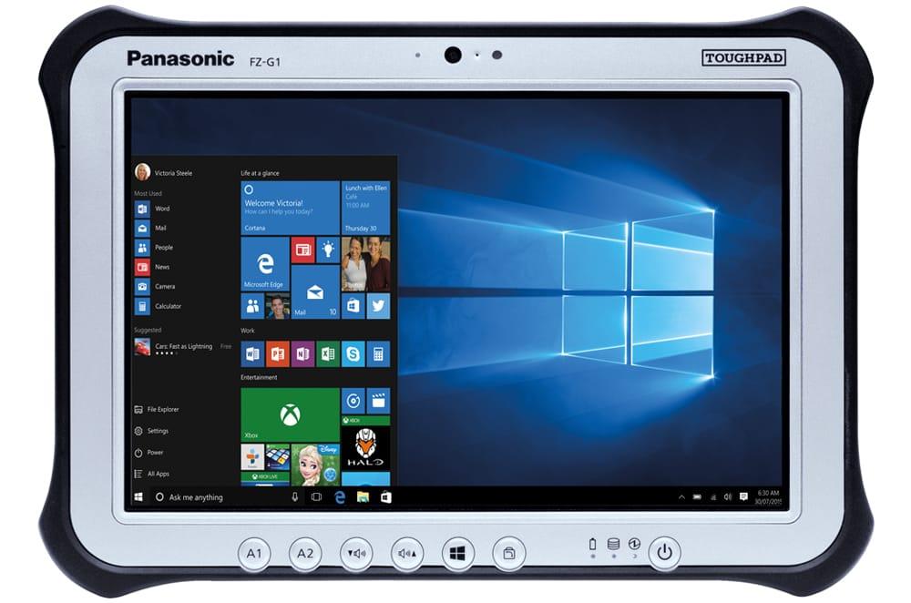 Panasonic Toughpad FZ-G1 mk4 представлен в Российской Федерации