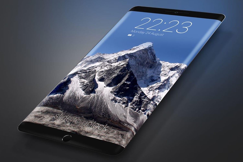 Самсунг запатентовала смартфон с навсе 100% загнутыми краями монитора