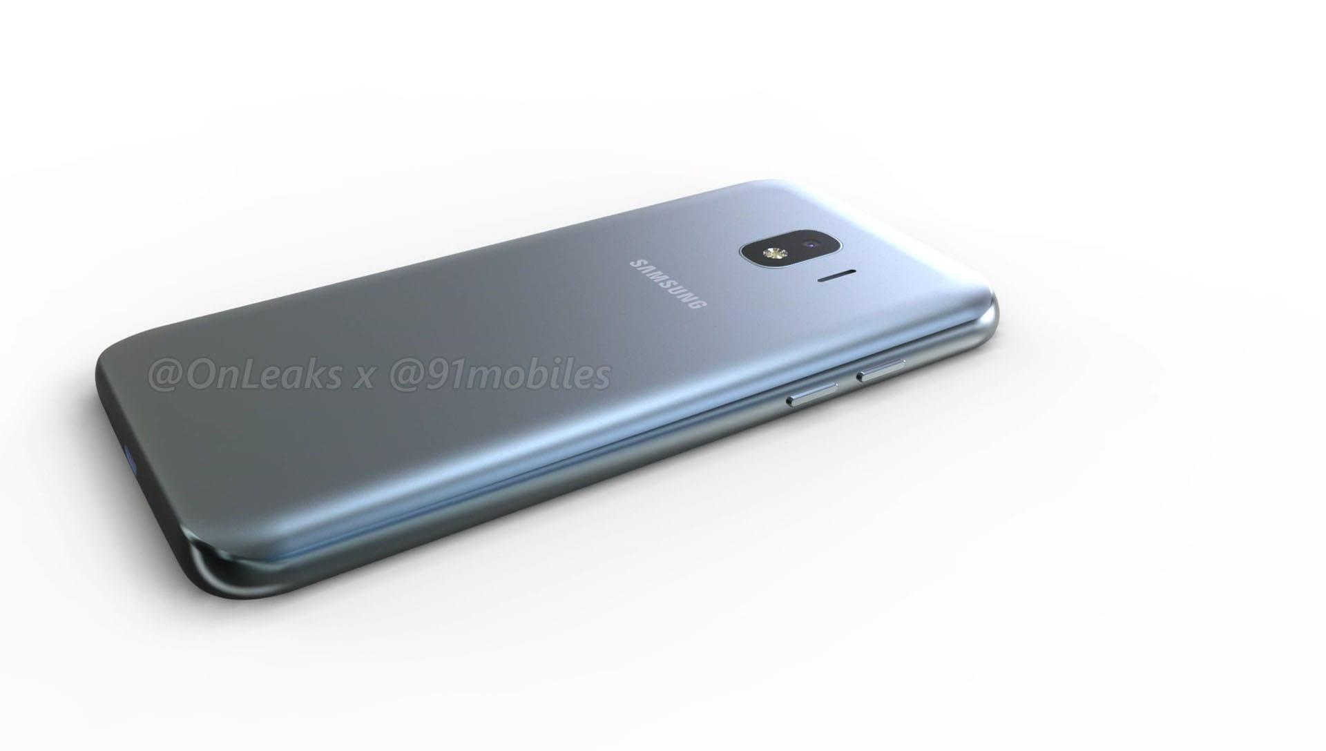Размещены рендеры телефона Самсунг Galaxy J2 Pro (2018)