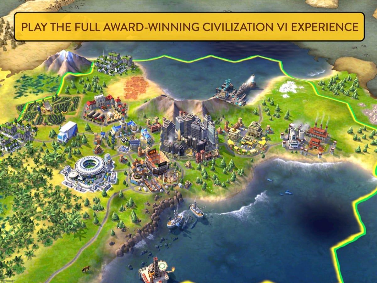 Вышла стратегия CivilizationVI доступна для iPad