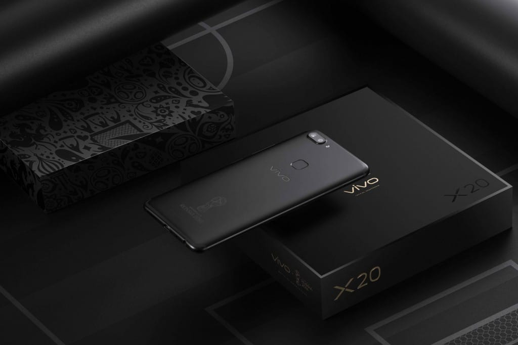 Vivo X20 FIFA World Cup Edition представлен официально