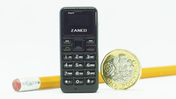 Zanco Tiny T1— самый компактный телефон вмире