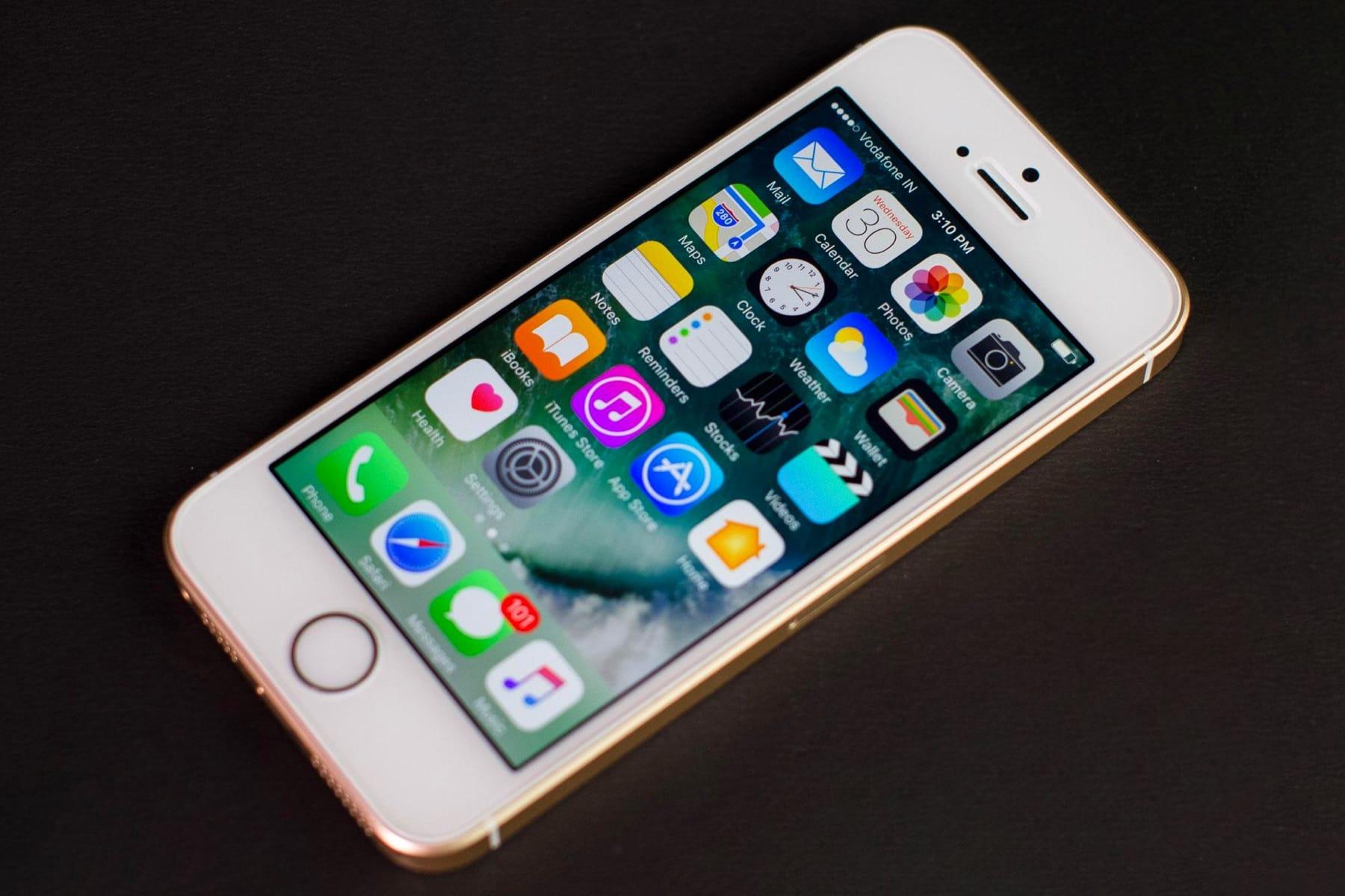 ВСеть попал 1-ый  снимок нового iPhoneSE
