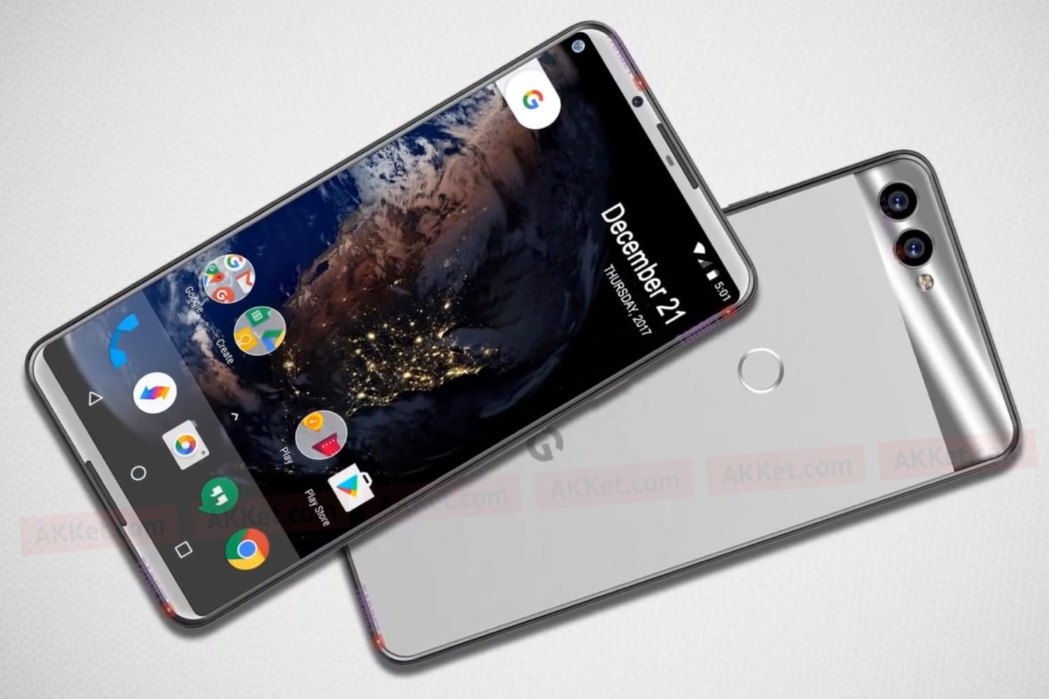 After the release of the Google Pixel 2 and Google Pixel 2 XL work is now well underway on a trio of Pixel 3 phones