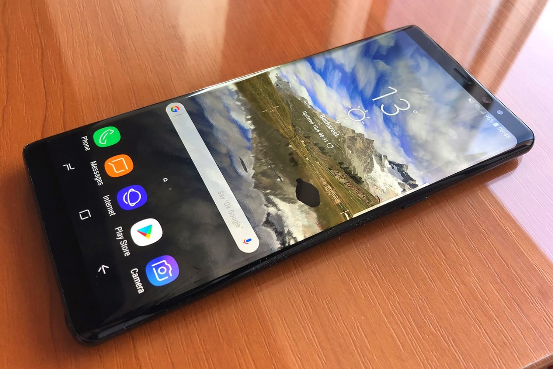 Galaxy S8 стал лучшим телефоном 2017 года