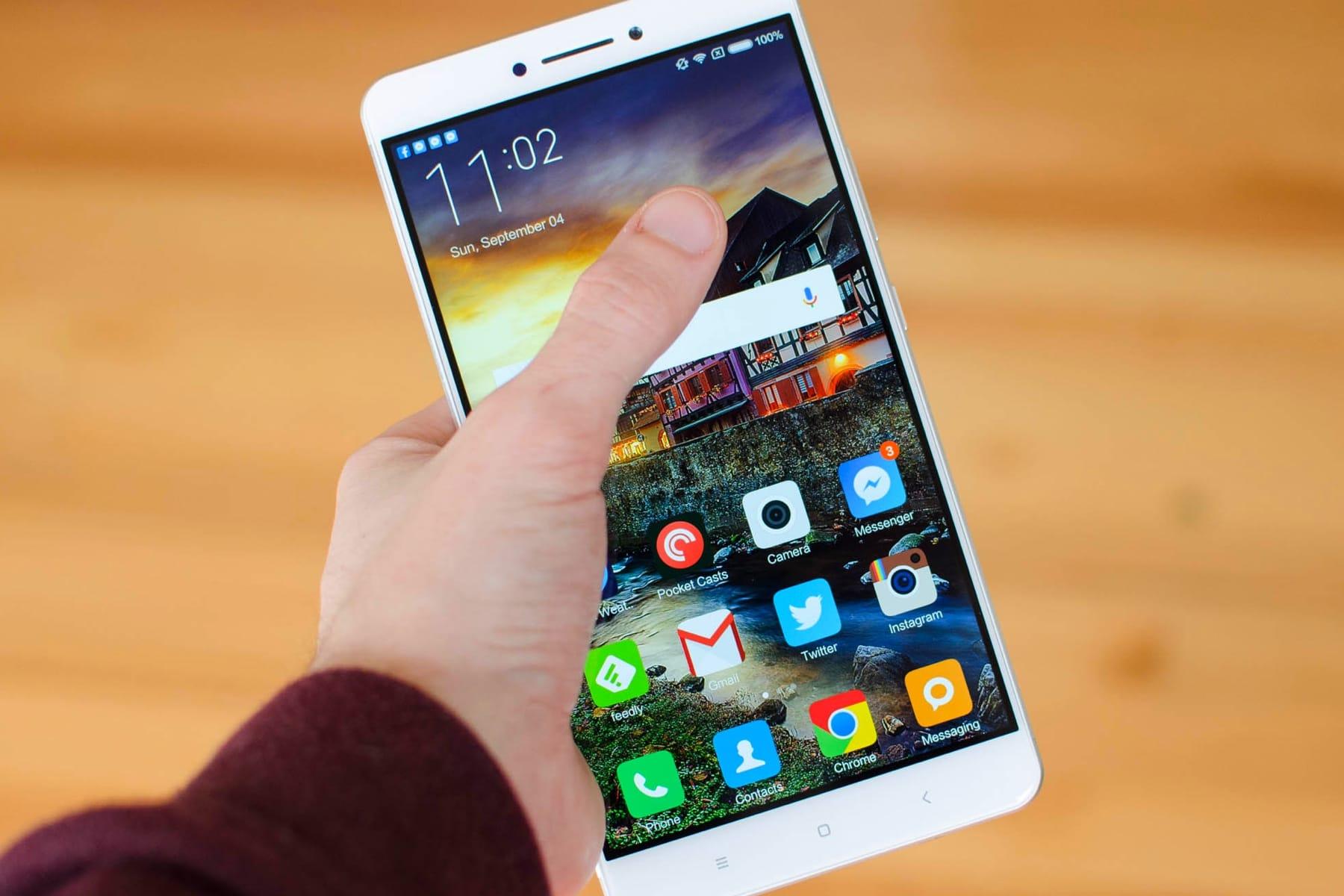Первые изображения Xiaomi MiMax 3