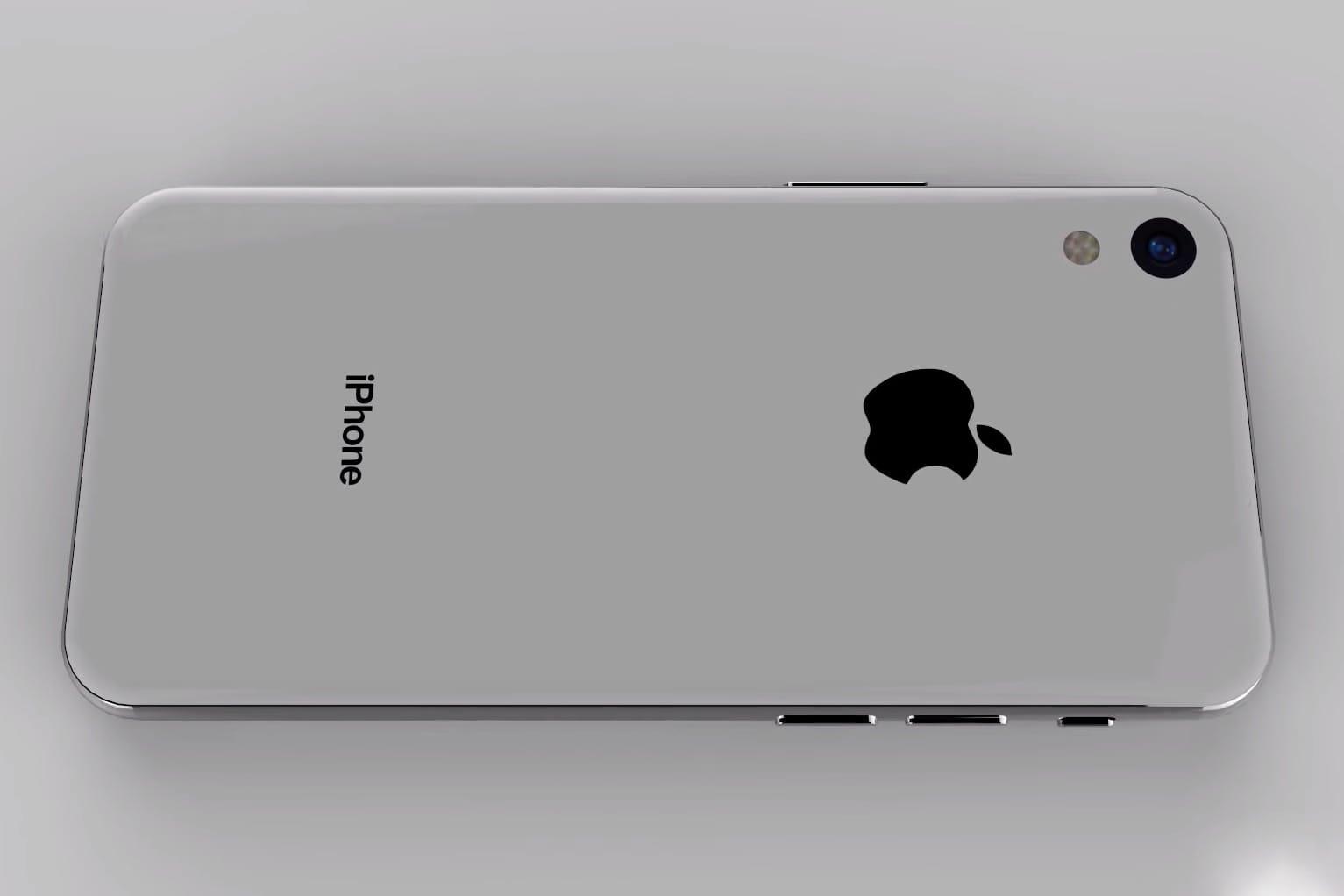 Концепт-видео iPhoneSE 2 ввиде уменьшенного iPhone X