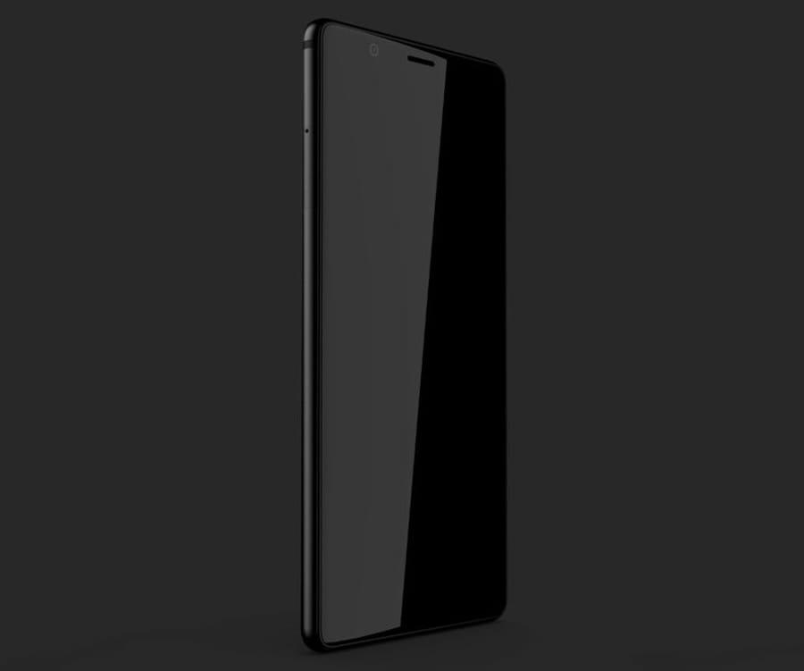 BlackBerry Ghost— 1-ый «безрамочный» смартфон под маркой BlackBerry