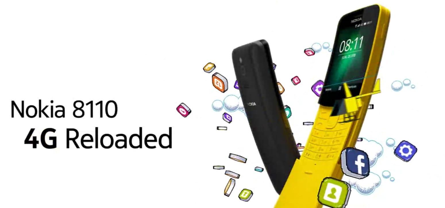 Nokia 8110 (2018) з підтримкою 4G незабаром вийде на ринок