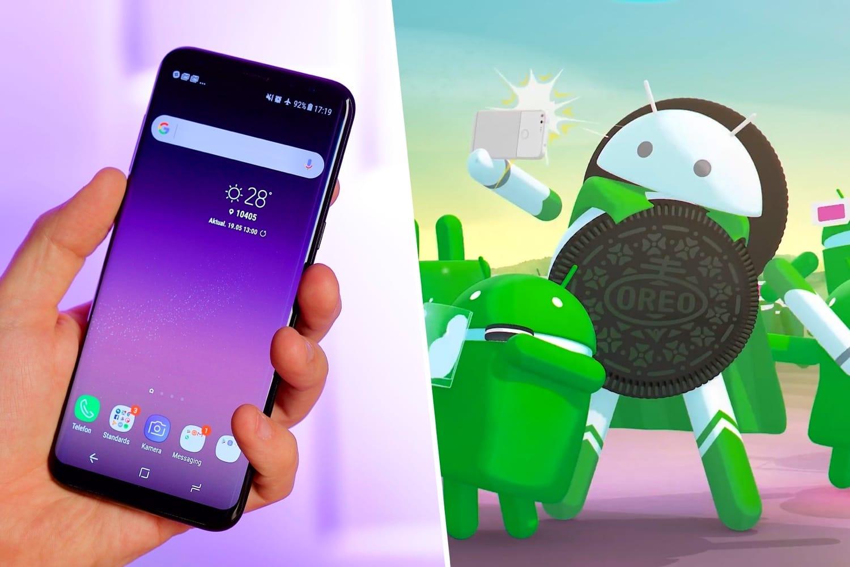 0 Самый первый смартфон Samsung начали обновлять до Android 8.0 Oreo