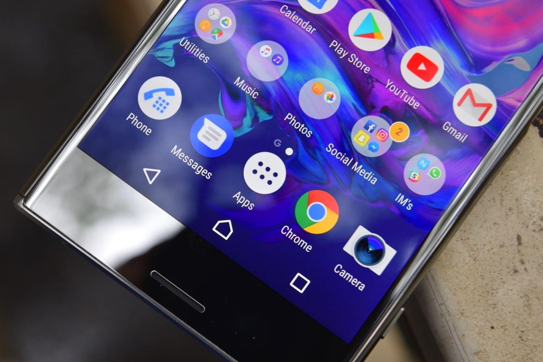 0 Великолепный Sony Xperia XZ2 на официальном изображении со всех сторон
