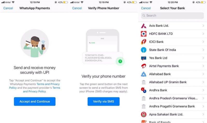 WhatsApp тестирует свою платежную систему