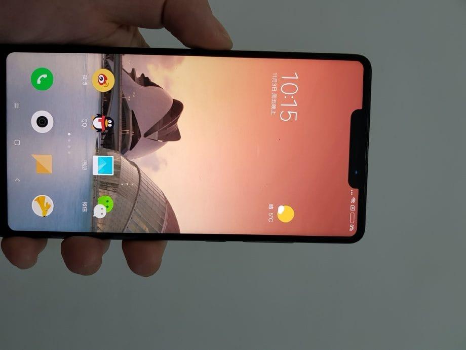 Xiaomi MiMIX 2S обзаведется сканером отпечатков пальцев прямо вэкране